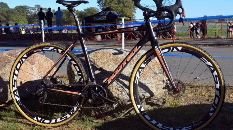 Helen Wyman's Kona Super Jake CX. © Cyclocross Magazine