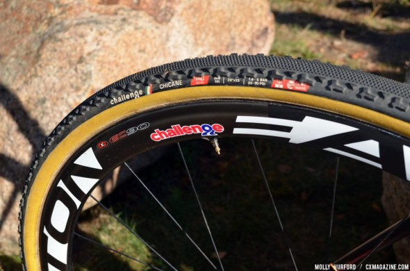 Helen Wyman helped design Challenge's latest tire, the Chicane. © Cyclocross Magazine