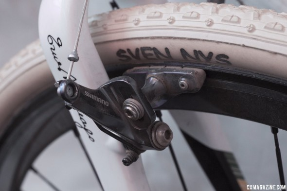 Sven Nys' winning-Colnago Prestige still features the affordable