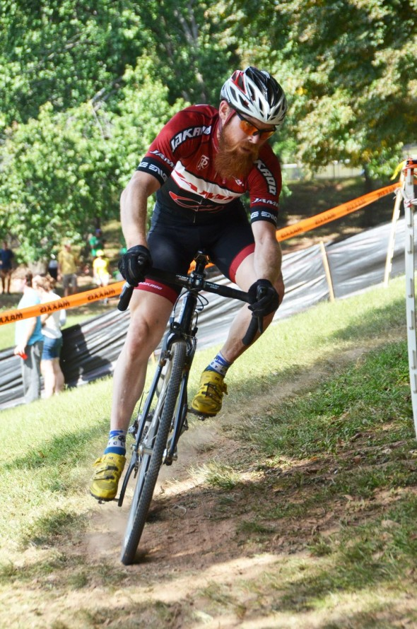 Grant Park Cyclocross: still summer in Georgia. © Trish Albert/Southeasterncycling.com