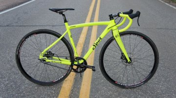 The new team bike for the Gates Carbon Drive team: the Spot Rallye.