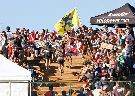 The runup at Boulder back in 2011. © Jody Grigg