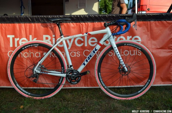 Compton's new Trek Crockett cyclocross bike. © Cyclocross Magazine