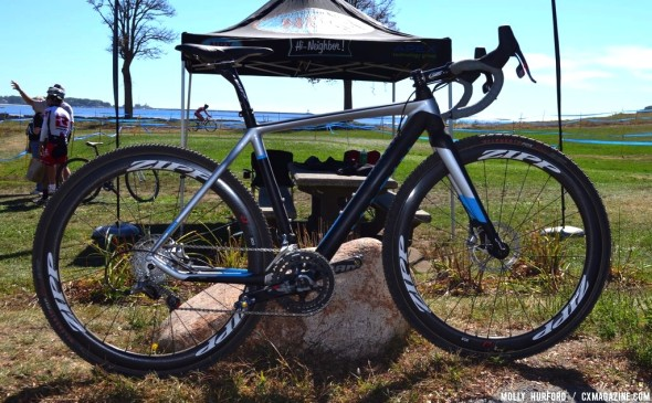 Nicole Duke's new Marin rig. © Cyclocross Magazine
