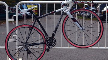 Mo Bruno Roy's custom Seven. © Cyclocross Magazine