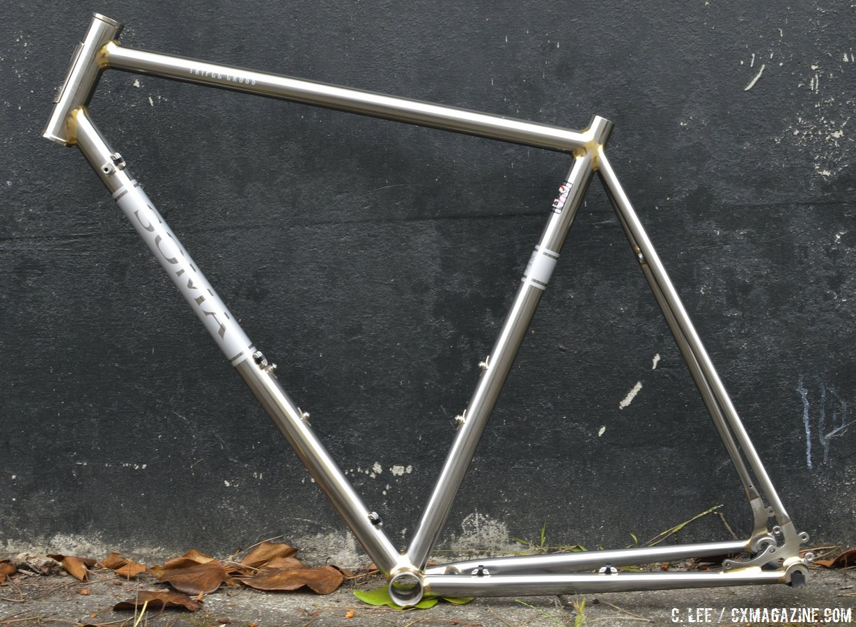 frameset only components and rust are not included soma fabrications stainless steel triple