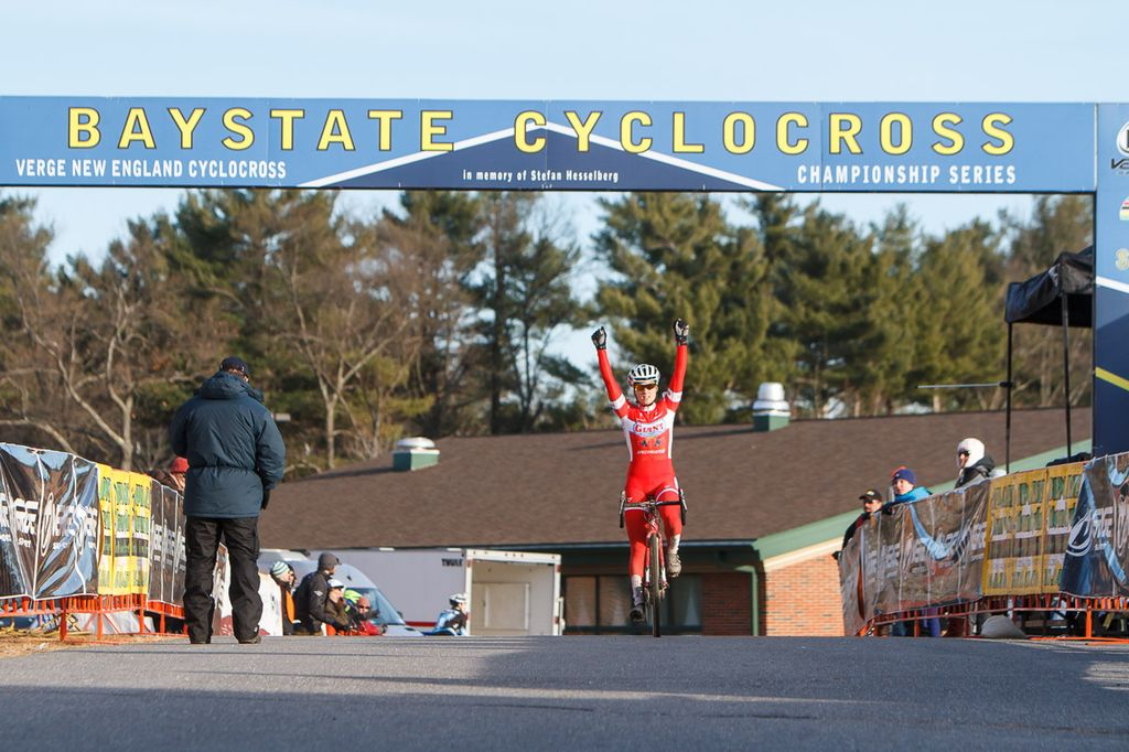 Anderson won six races during the 2013 U.S. campaign before Nationals. 2013 Baystate Cyclocross Day 1. © Todd Prekaski