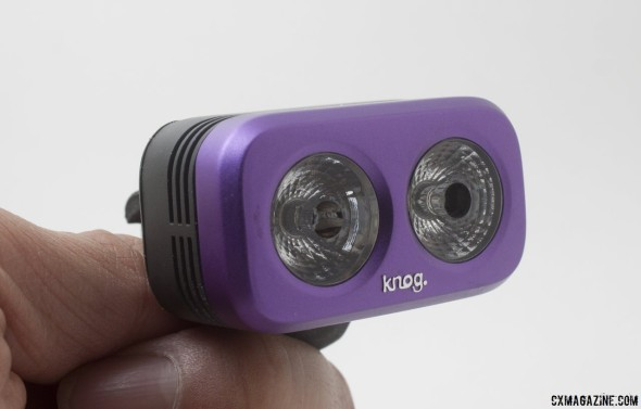 Knog Road Blinder 2 LED bike headlight comes in four colors and is just 78g. © Cyclocross Magazine