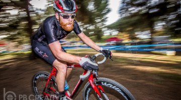 Brandon Gritters, poised to capture his second consecutive SoCalCross crown. © Philip Beckman