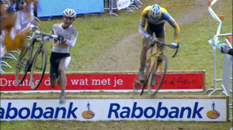 Video: 2013 Superprestige Gieten men's race: Meeusen and Walsleben race for third.