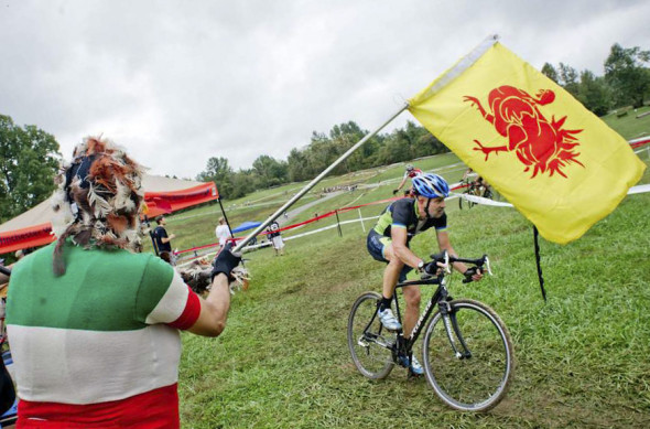 The turkey can inspire cyclocrossers (© Jay Westcott)