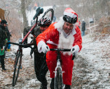The spirit of the season at SSCXWC. © Dominic Mercier