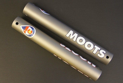 Moots Ti Sticks, because we all need more cowbell.