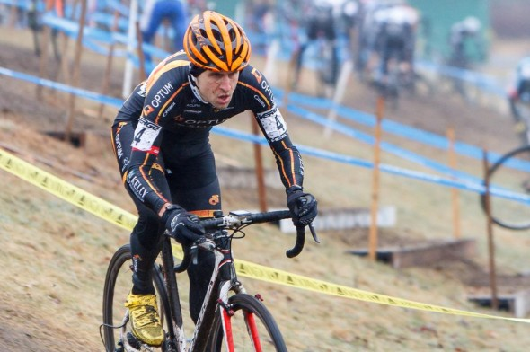 A determined Durrin at Baystate Cyclocross Day 2 2013. © Russ Campbell