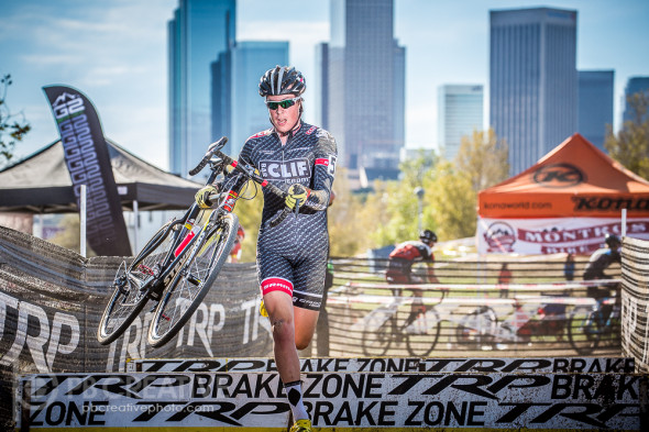 "Maxx Chance was ""The Man"" in UCI Junior Men's racing at CXLA. © Philip Beckman / PB Creative"