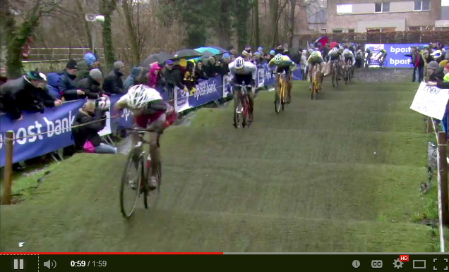 Screenshot: 2013 bpost Bank Trofee Loenhout Azencross video.