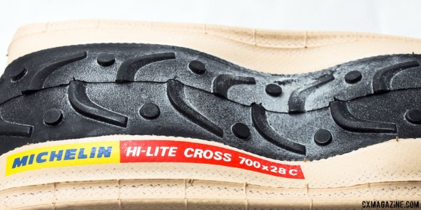 Michelin Hi-Lite Cross 700x28c cyclocross clincher. © Cyclocross Magazine