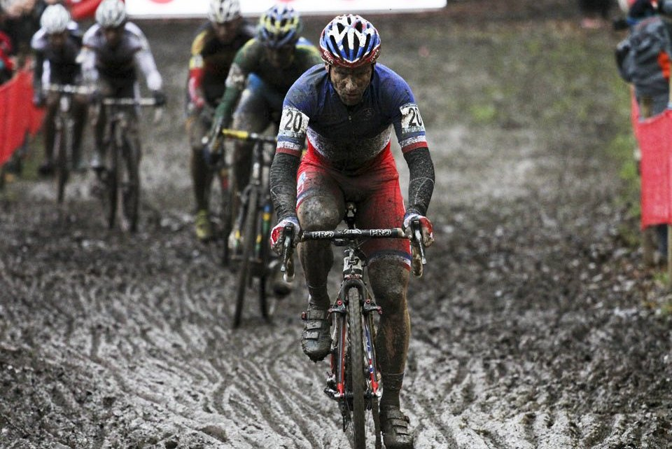 French National Champion Mourey took a commanding win in front of all the favorites in Namur. © Cyclocross Magazine