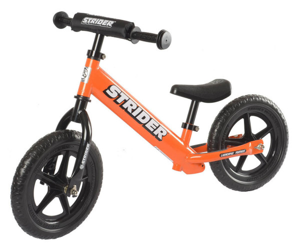 Strider makes one of the most popular balance bikes in the ST-4, and it's light at 6.7 pounds.