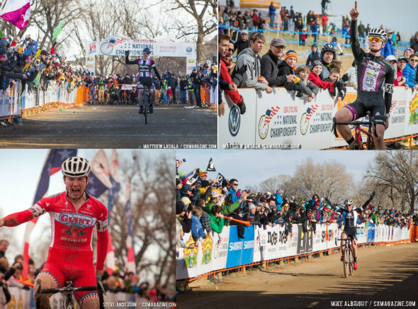 2014 National Champions. © Cyclocross Magazine