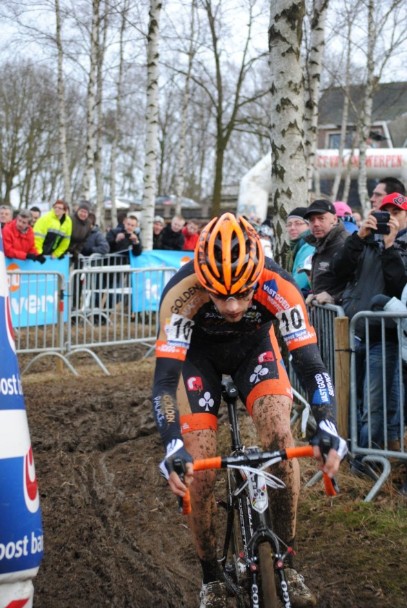 Peeters focusing hard. © Kristel Van Gilst