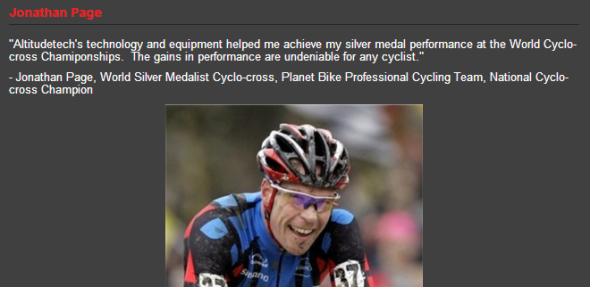 Jonathan Page on Altitudetech's website