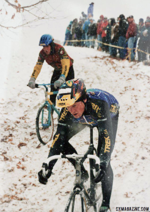 Before Compton and Nys there was Myrah, but this was in 1995. © Cyclocross Magazine