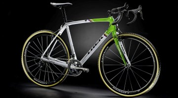 Trek's new carbon Boone cyclocross bike, with Iso Speed technology. photo: courtesy
