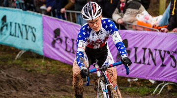 at Cyclocross Worlds in Hoogerheide. © Thomas Van Bracht