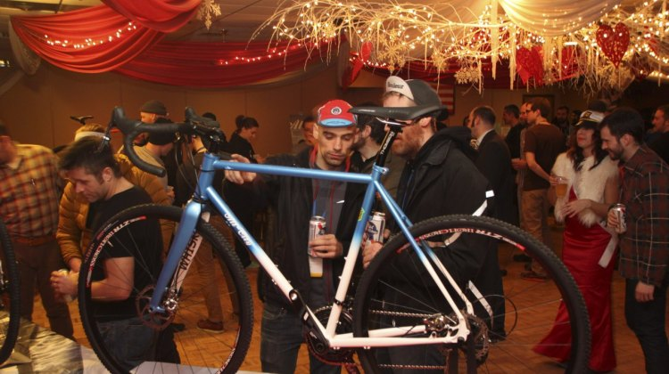 The center of attention: All-City Cycles' brand new Reynolds 853