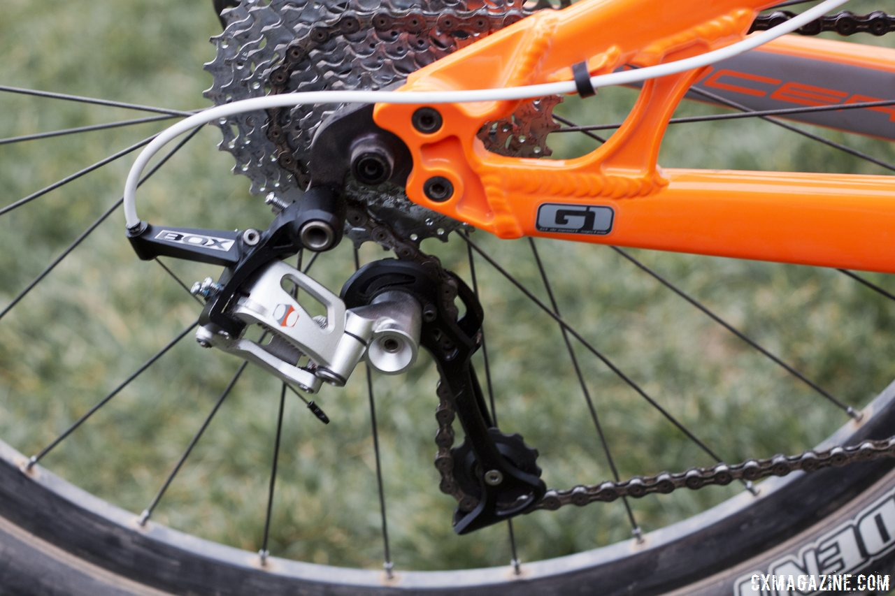 Box Components' new 10-speed derailleur has a wide range and