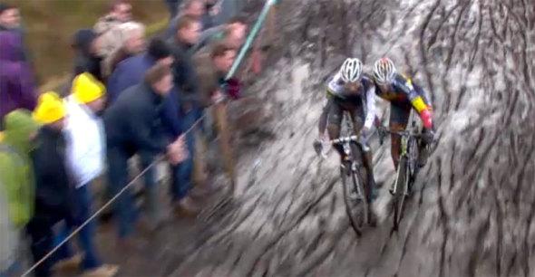 2014 Superprestige Hoogstraten: Sven Nys, Niels Albert, Klaas Vantornout