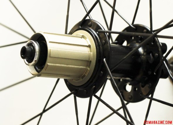 Want to use a different dropout or different type of a cassette? The ATB Disc Convertible hub can easily change to 142mm or accept Campy or XX1 cassettes. © Cyclocross Magazine