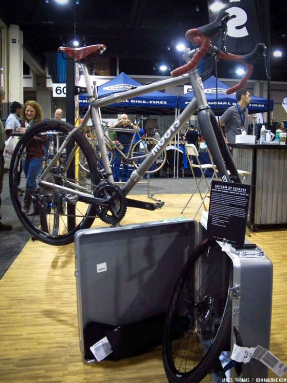 Moots Suitcase of Courage at NAHBS 2014. © James Thomas