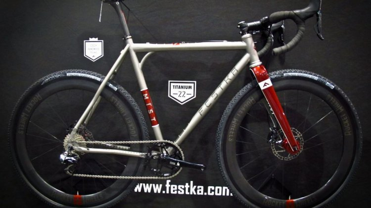 Festka at NAHBS 2014. © James Thomas