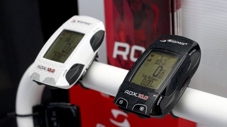 New Sigma GPS Rox at Frost Bike 2014. © Cyclocross Magazine