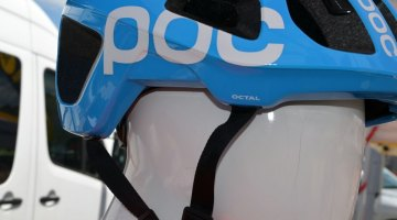 POC helmets at ea Otter 2014. © Cyclocross Magazine