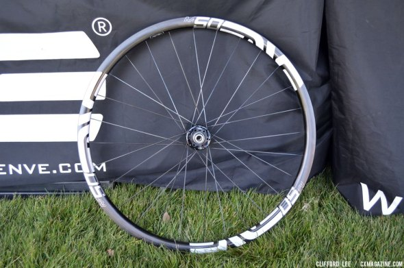 The new MSeries M50 wheelset from ENVE at Sea Otter 2014. © Cyclocross Magazine