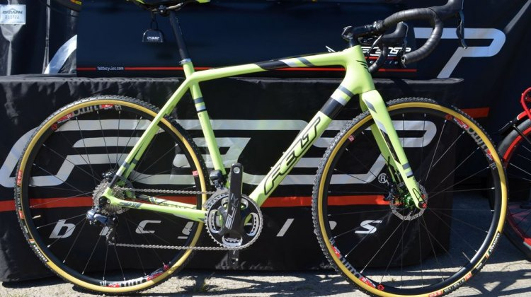 Felt's new F2x at Sea Otter 2014. © Cyclocross Magazine