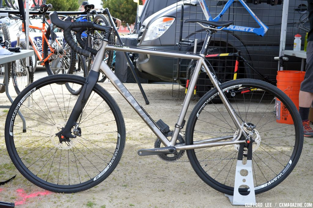 On One Shows Off Titanium Pickenflick Cross Bike At Sea Otter