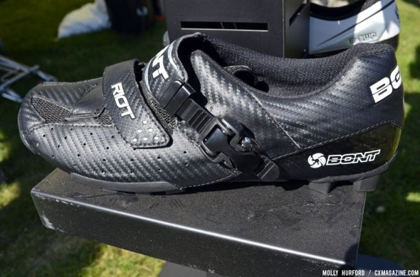 Bont shoes at Sea Otter 2014. © Cyclocross Magazine