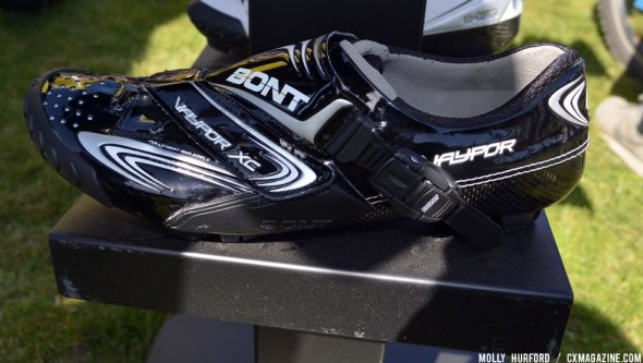 Good for 'cross? Bont' Vaypor is stiff but light and ready for cyclocross. © Cyclocross Magazine