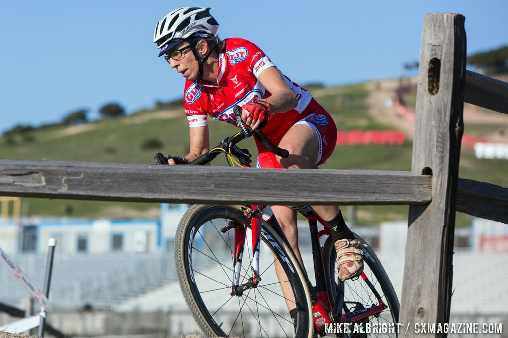 Lloyd raced to win the West Sacramento Cyclocross Grand Prix. (file photo, Sea Otter, © Mike Albright)