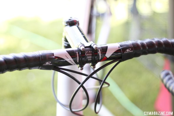 FSA K-Force carbon bar is shown, but the frames are built up to your own spec. © Cyclocross Magazine