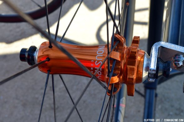 The new Ultralight CX Carbon wheelset from Industry 9. © Cyclocross Magazine