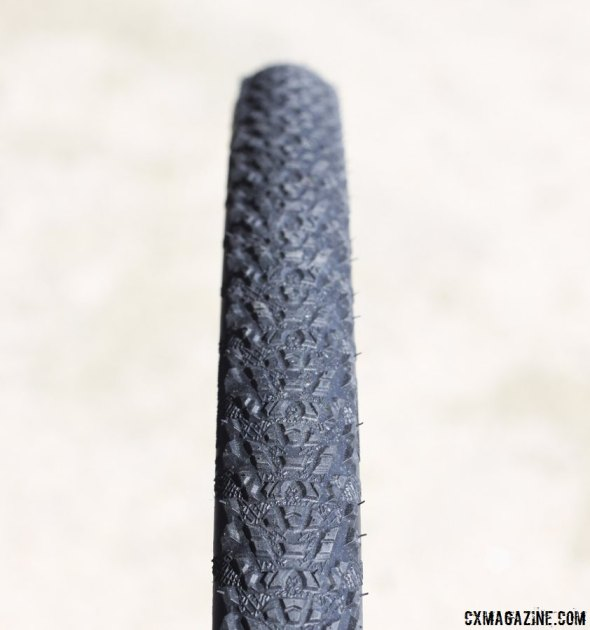 Hutchinson's Black Mamba tread comes in a 32c tubular and a 34mm tubetype and a tubeless format. © Cyclocross Magazine