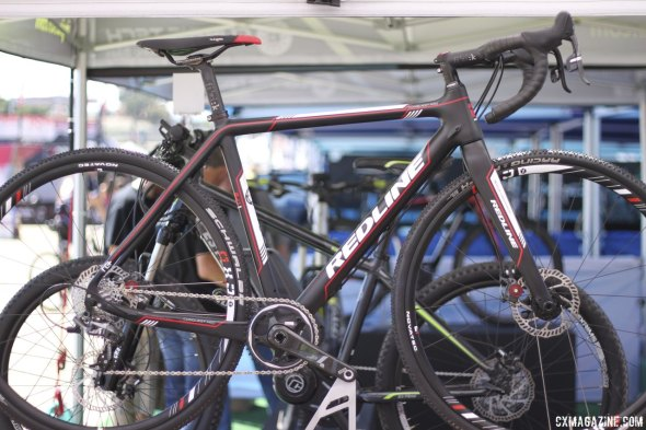 The new Conquest Team with CX1 at Sea Otter 2014. © Cyclocross Magazine