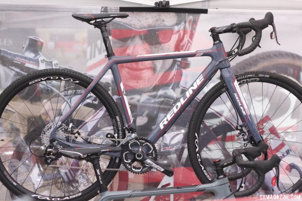 The Conquest Elite at Redline. Sea Otter 2014. © Cyclocross Magazine