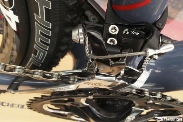 Rival adds Yaw and an extra cog for 2015, as seen on the Conquest Elite. © Cyclocross Magazine