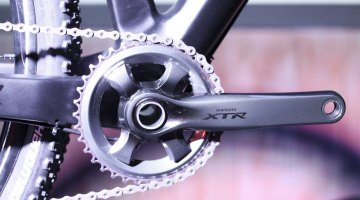 Shimano unveils 11-speed, single chainring XTR 9000 and 9020 at Sea Otter 2014. © Cyclocross Magazine